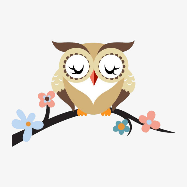 650x651 Cute Owl, Lovely, Owl, Flowers Png Image And Clipart For Free Download