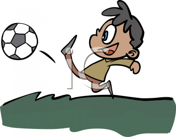 350x273 Collection Of Person Kicking Soccer Ball Clipart High