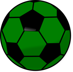 299x294 Color Soccer Ball Clipart