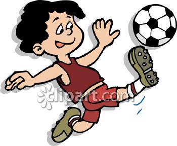 350x288 Soccer Clip Art