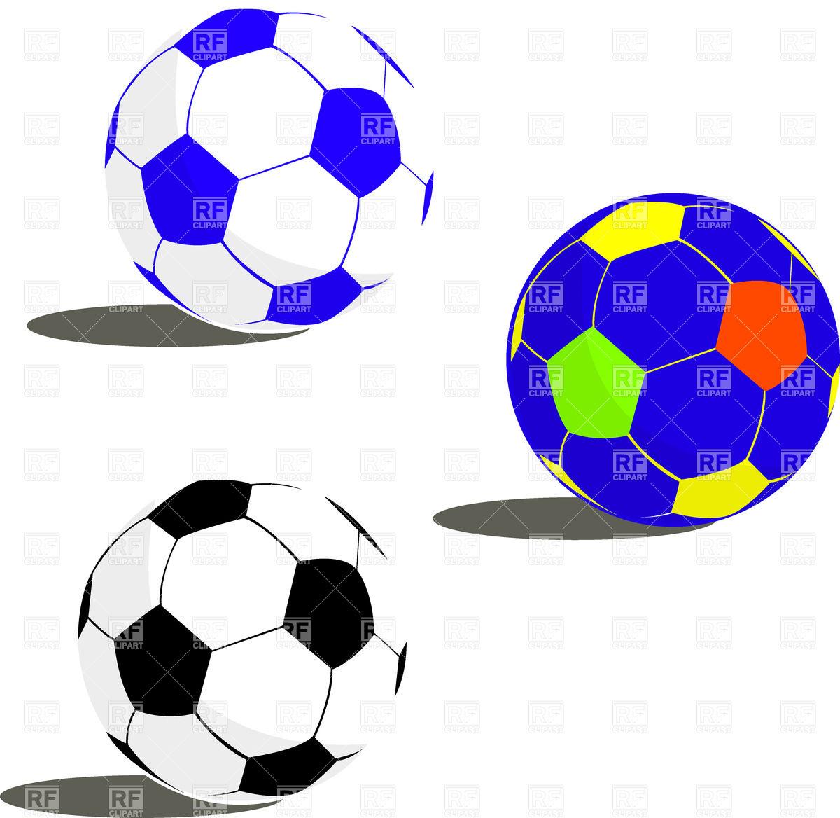 1200x1168 Soccer Balls Royalty Free Vector Clip Art Image