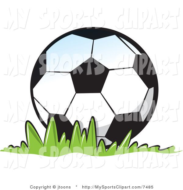 600x620 Sports Clip Art Of A Soccer Ball By Jtoons