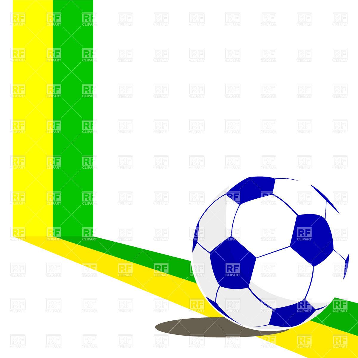 1200x1200 Blue Soccer Ball Royalty Free Vector Clip Art Image