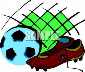 300x253 Clip Art Image A Soccer Clipart Panda