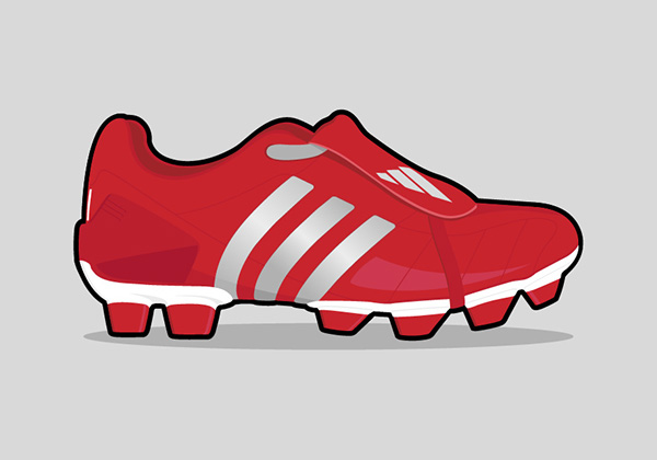 600x420 Football Boot Illustrations On Behance