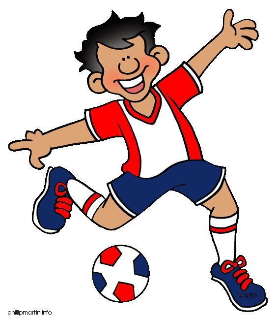 566x648 Funny Soccer Cliparts