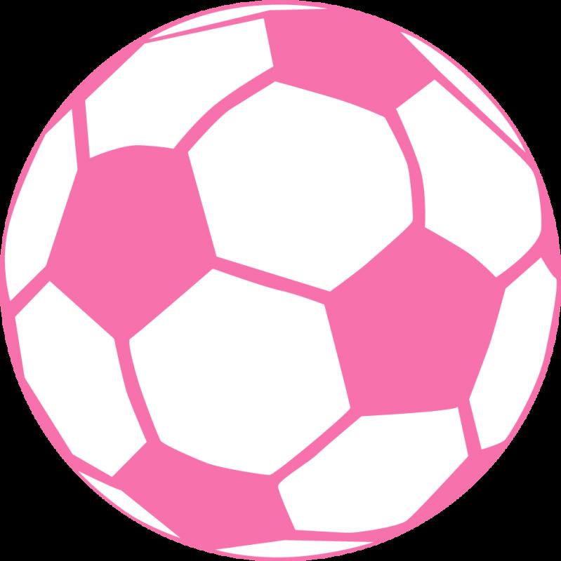 799x800 Pink Soccer Ball More Craft Ideas Soccer Ball