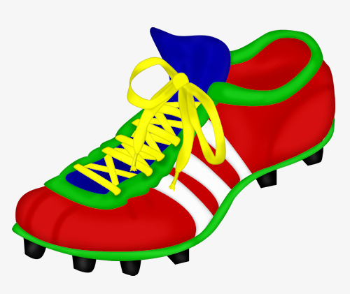 500x421 Soccer Shoes, Hand Painted, Shoes Png Image And Clipart For Free
