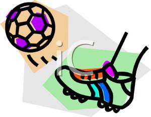 300x232 Soccer Clipart Soccer Ball Cleat