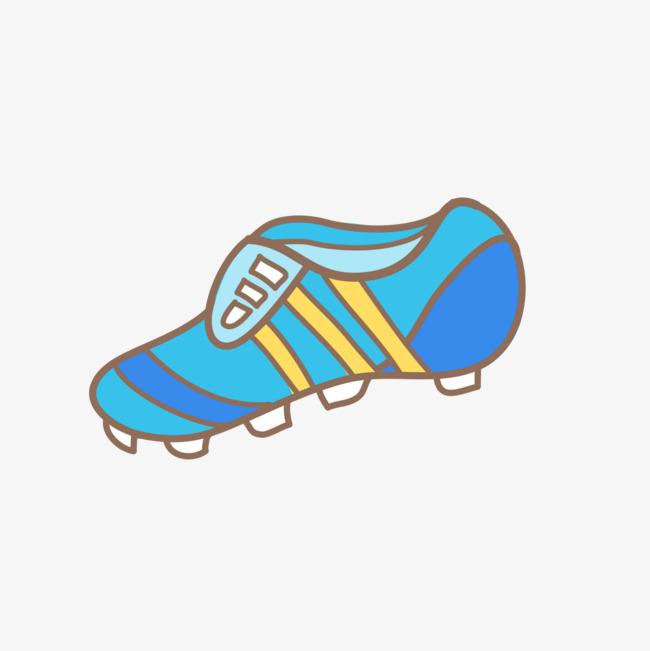 650x651 Cartoon Soccer Shoes, Sneakers, Cartoon, Football Png Image