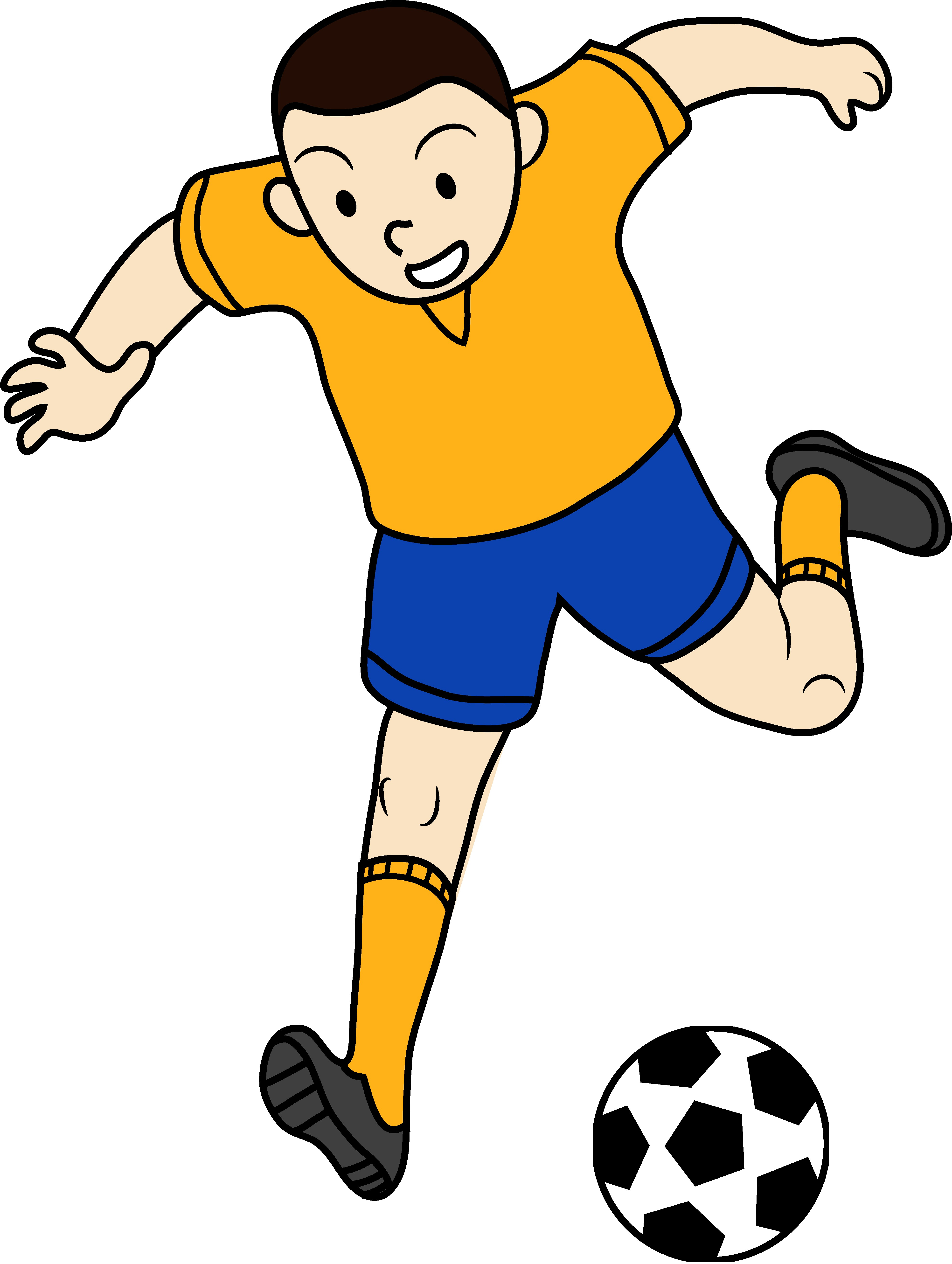 3945x5238 Kid Playing Soccer Or Football Free Clip Art Pleasing Games