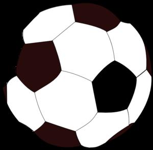 300x294 Soccer Ball Clip Art
