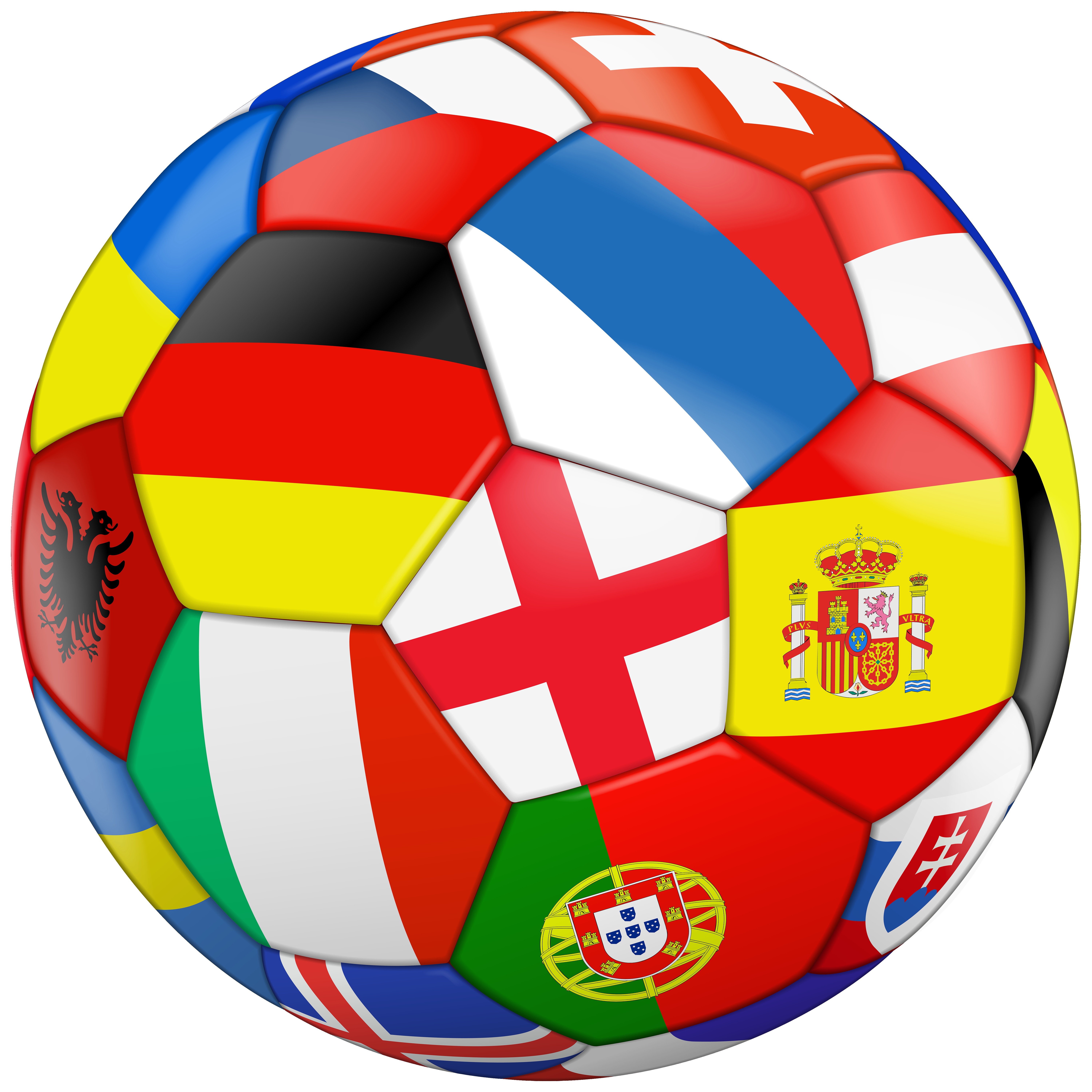 6000x6000 Soccer Ball Or Foot Free Clip Art Unusual Football Png Clipart