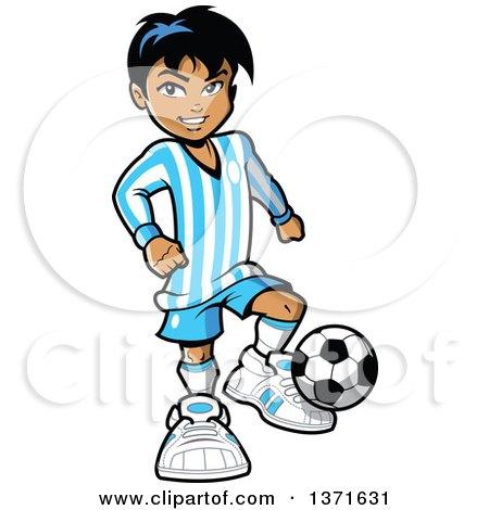 450x470 Soccer Clipart Mexican Boy