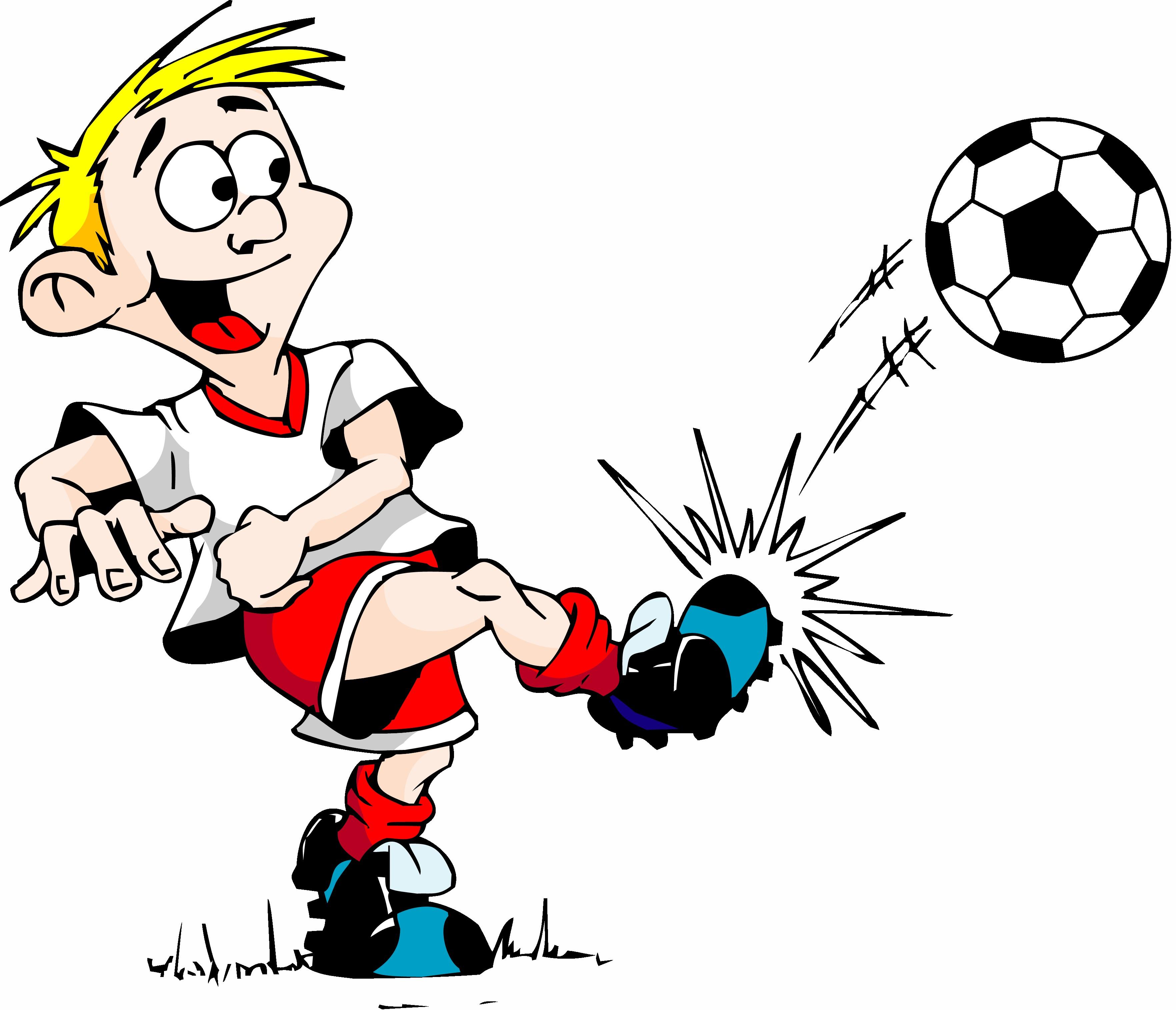3528x3029 Cartoon Soccer Clipart