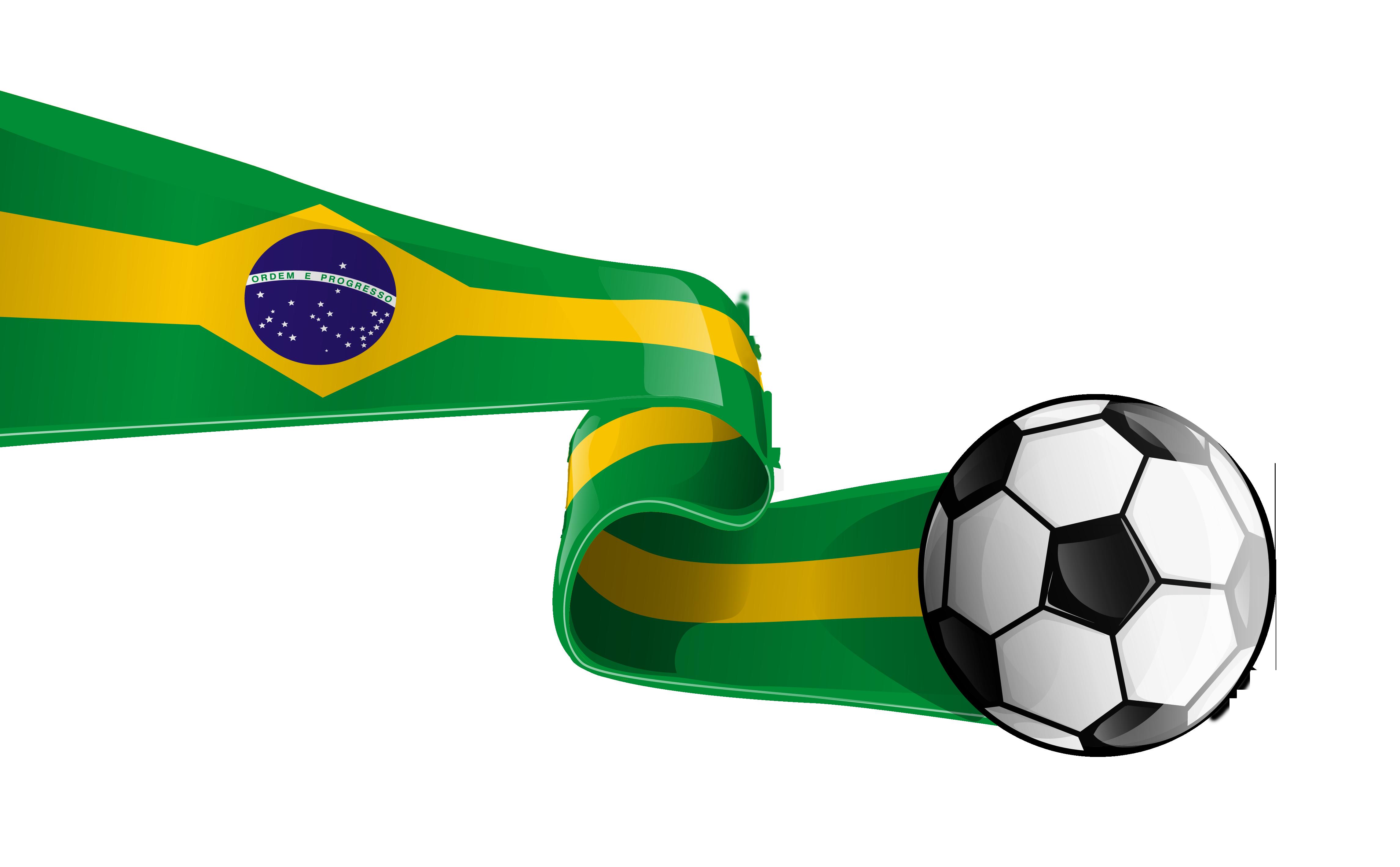 4582x2836 Clip Art , Brazil Soccer Clipart Panda
