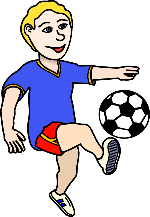 512x741 Free Soccer Clipart