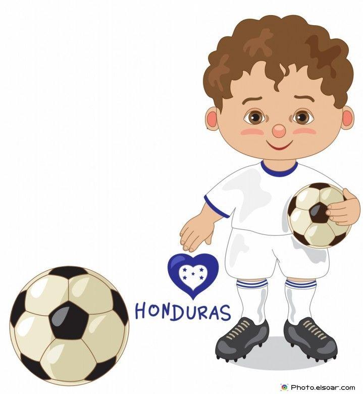 719x780 Honduras National Jersey, Cartoon Soccer Player Kids Clip Art
