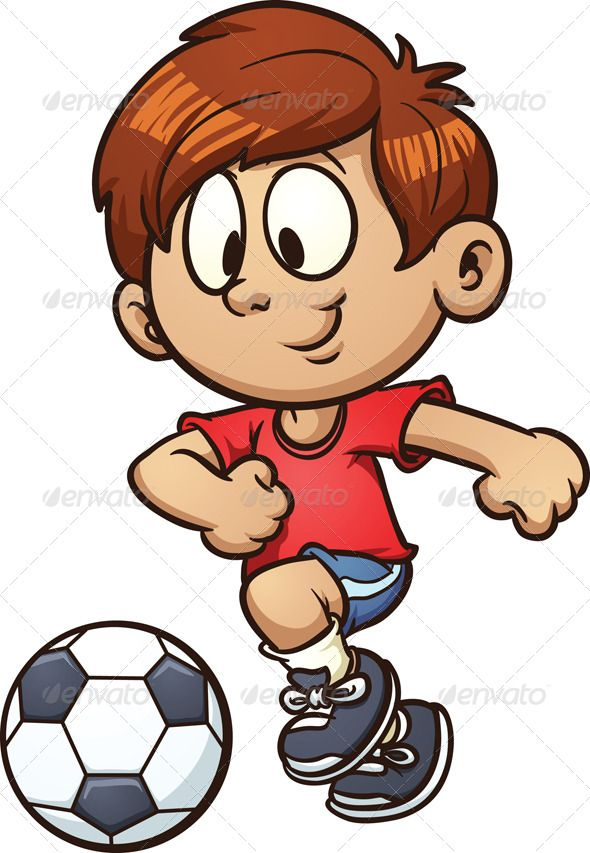 590x853 Soccer Kid Template, Clip Art And Creative