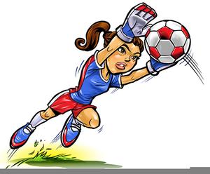 300x248 Girl Soccer Goalie Clipart Free Images