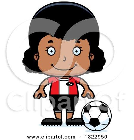 450x470 Royalty Free (Rf) Soccer Girl Clipart, Illustrations, Vector