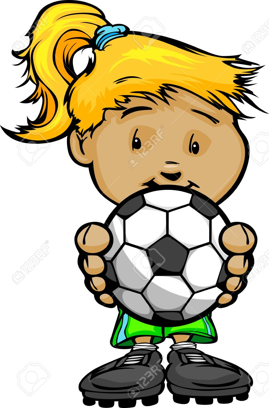 858x1300 Clip Art Soccer Girl Clip Art