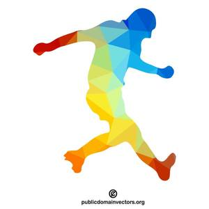Soccer Player Clipart