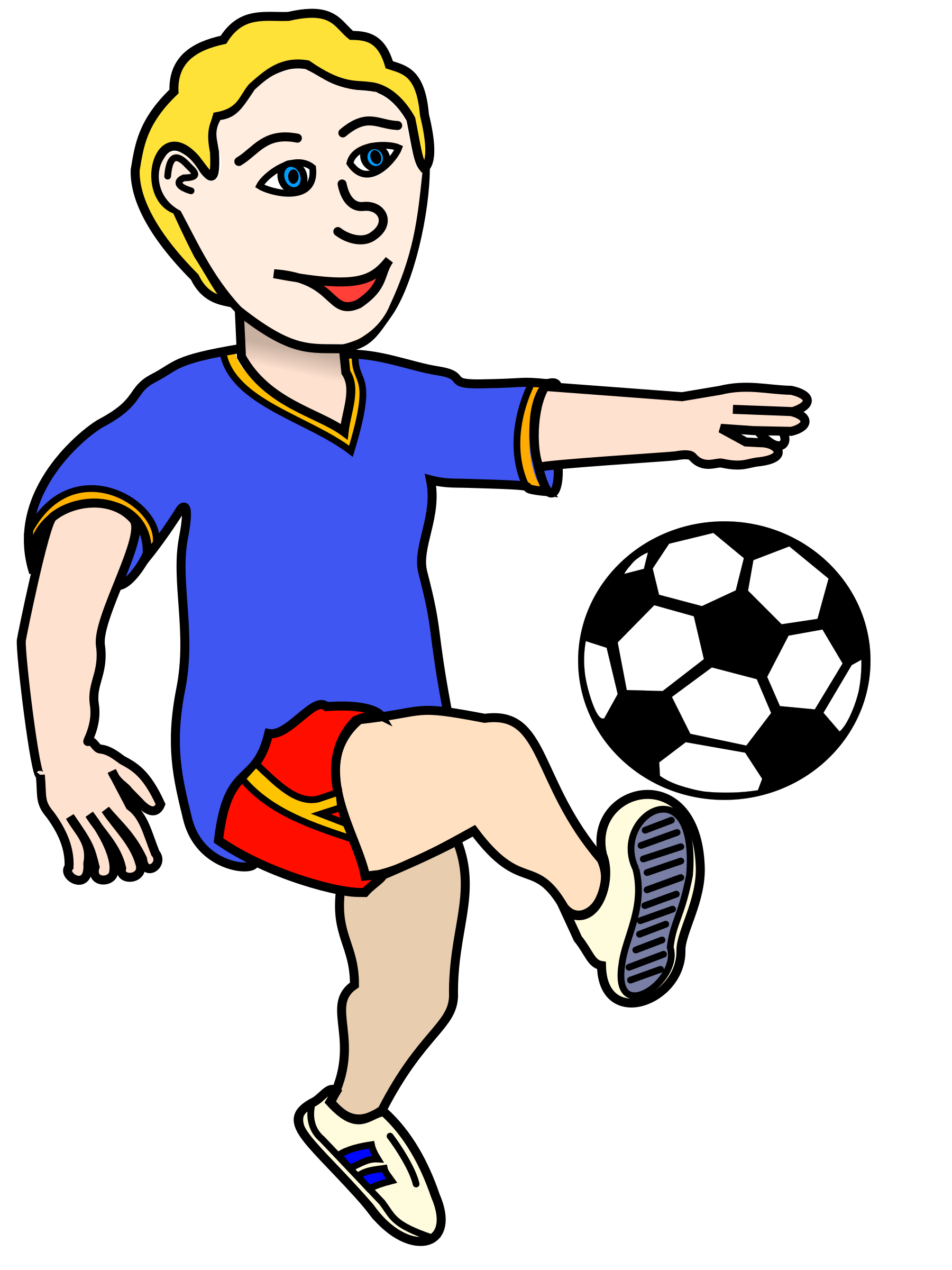 soccer player clipart at getdrawings com free for personal use rh getdrawings com soccer player clip art silhouettes soccer player clipart vector