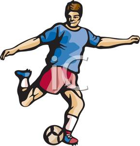 soccer player clipart at getdrawings com free for personal use