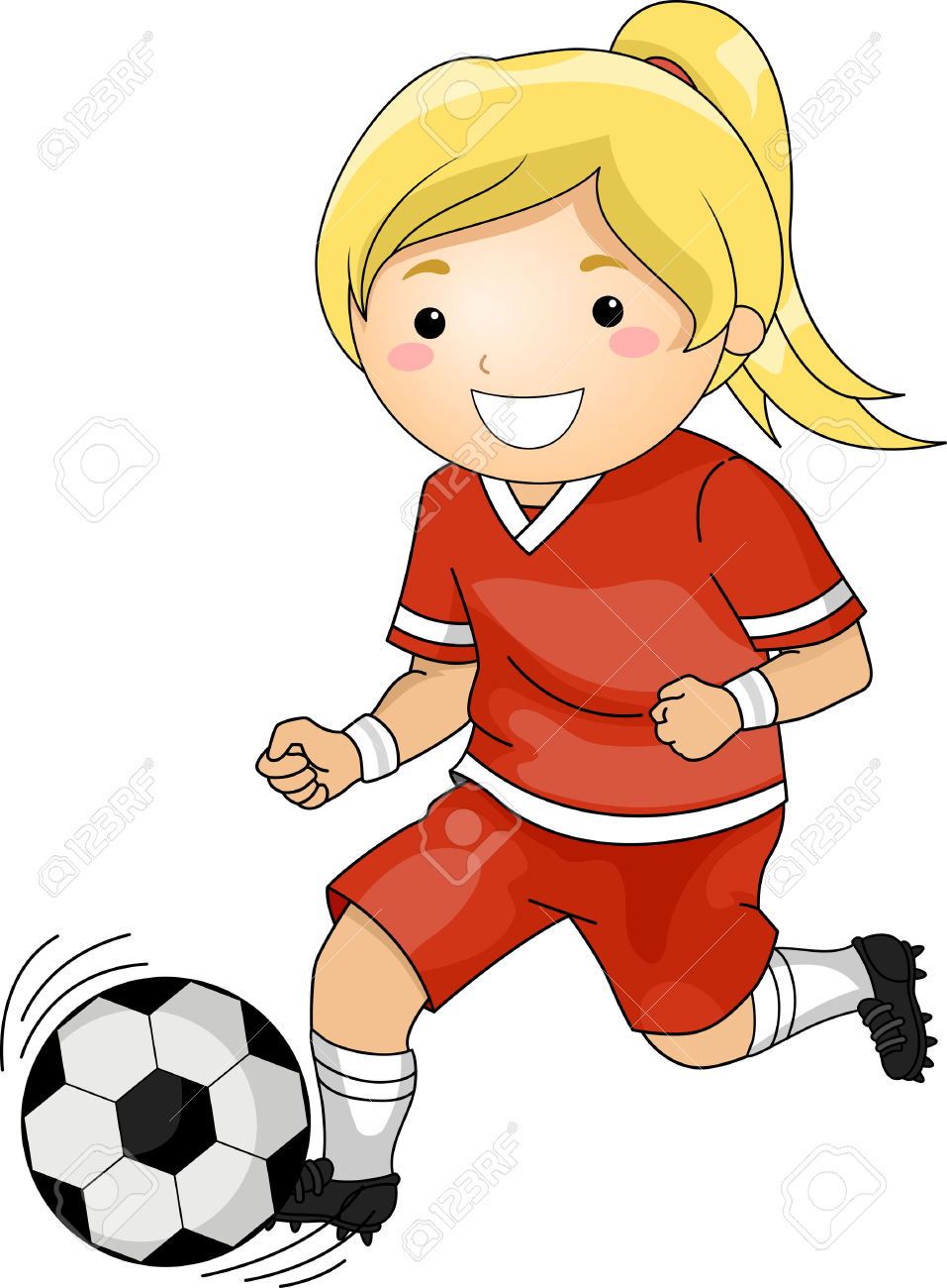 957x1300 Playing Soccer Clip Art