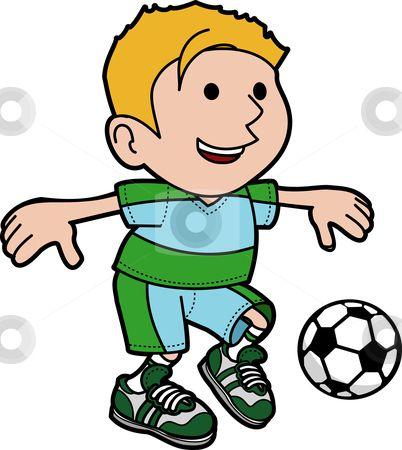 402x450 Pretty Boy Playing Soccer