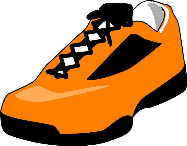 600x470 Free Running Shoes Clipart Image