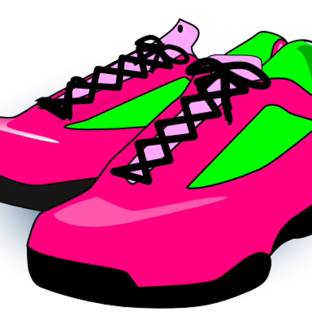 1024x1024 Pair Of Running Shoes Clipart