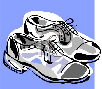 350x305 Shoes Clip Art