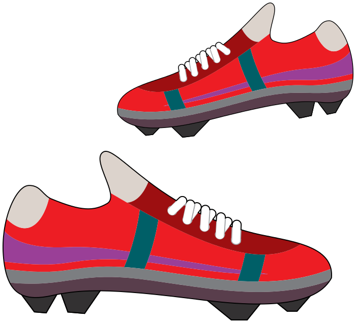 700x636 Soccer Cleats Clipart Soccer Shoes