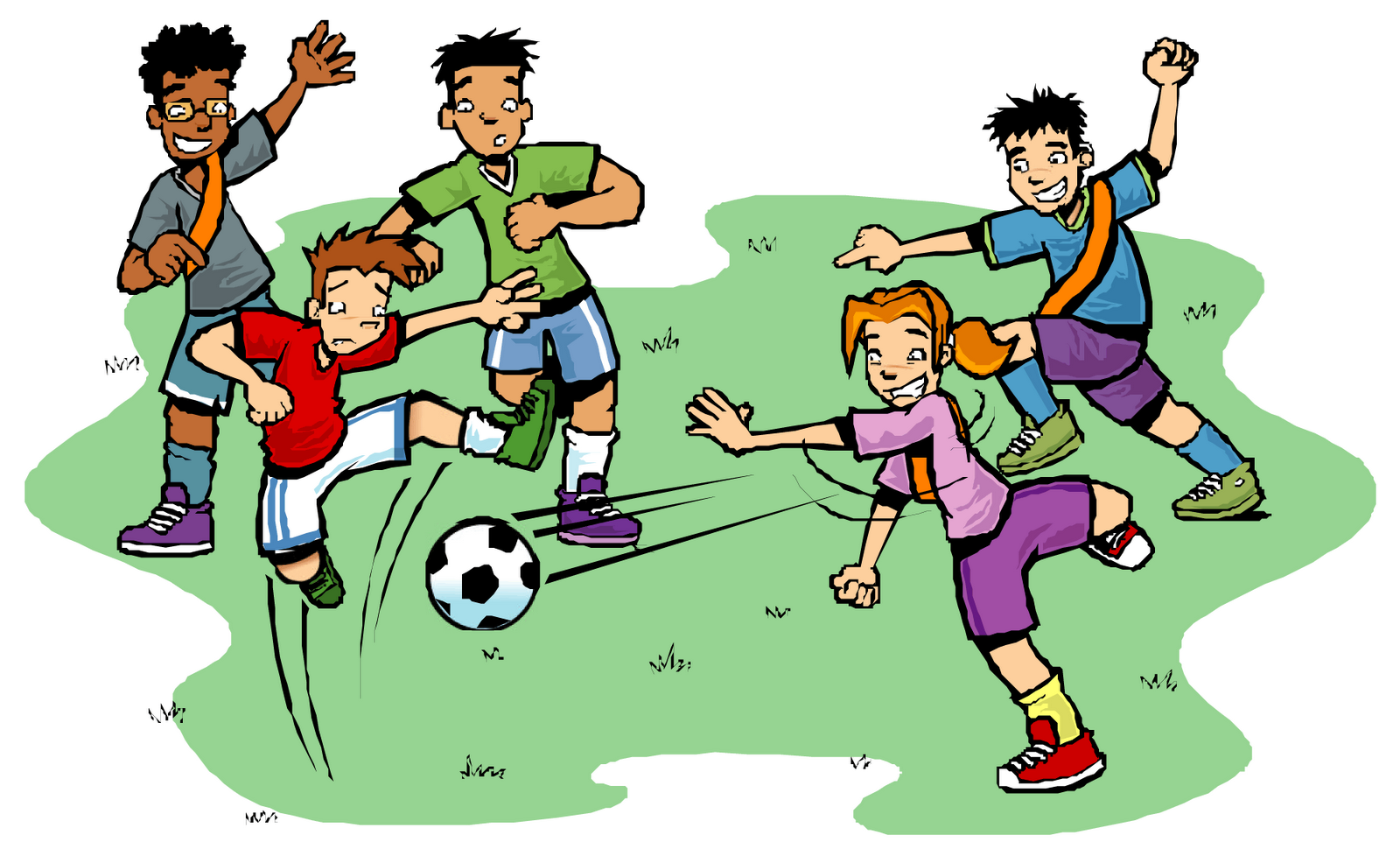 1600x978 Collection Of Kids Soccer Game Clipart High Quality, Free