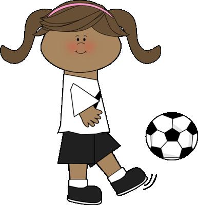 386x400 Soccer Clip Art