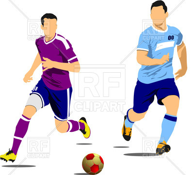 400x361 Soccer Players