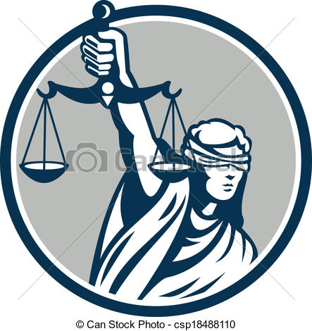 443x470 Figure Of Justice Clipart