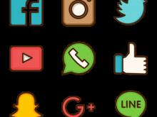 220x165 Social Media Clipart Clip Art Of Social Media Doodles Elements