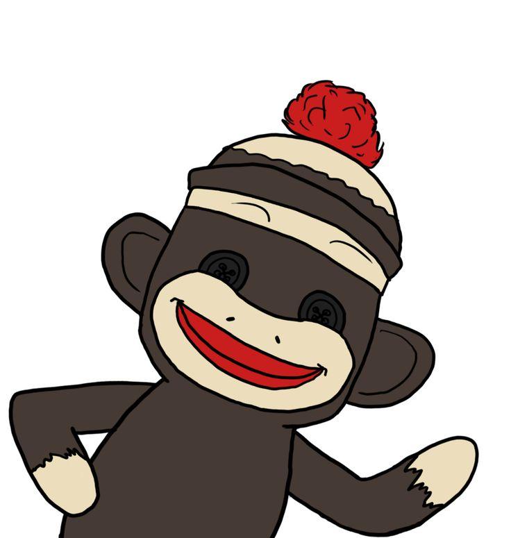 736x775 Sock Monkey Clip Art 48 Best Sock Monkey Images On Sock