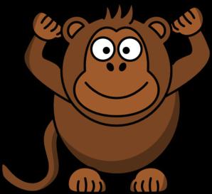 298x273 Brown Monkey Clipart Amp Brown Monkey Clip Art Images