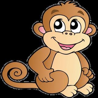 320x320 Classy Cute Monkey Clipart Clip Art Royalty Free Gograph Funny