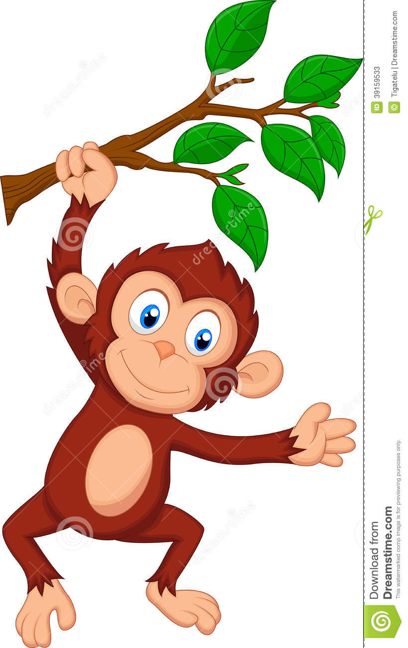 819x1300 Monkey Hanging From Tree Clipart Amp Monkey Hanging From Tree Clip
