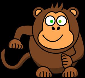 300x276 Monkey Clip Art For Teachers Free Clipart Images 4