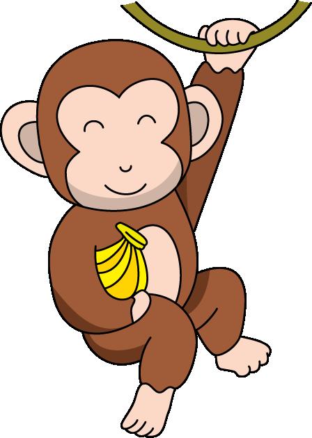 448x630 Monkey Clipart Free Clipart