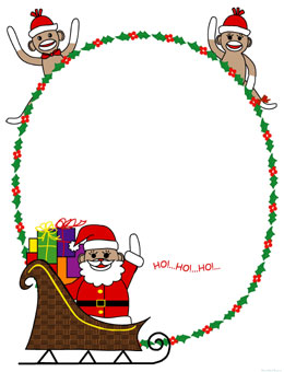 260x340 Sock Monkey Clip Art For Christmas Fun For Christmas