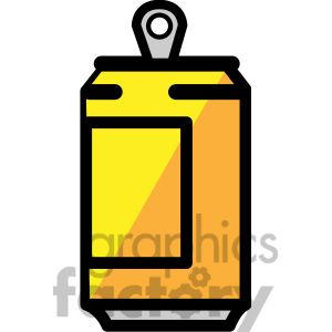 Soda Can Clipart