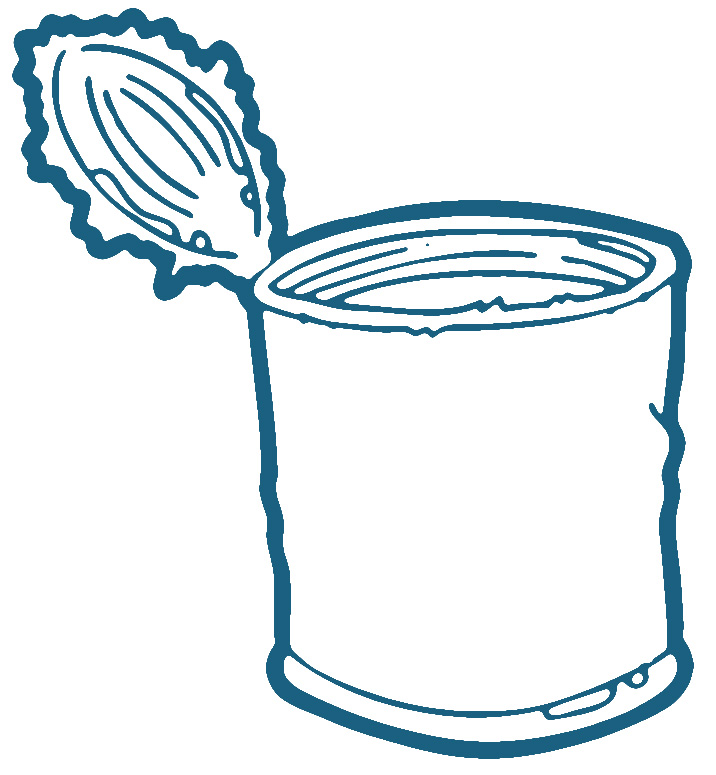 716x775 Clipart Can Can Clipart Canned Soup Pencil And In Color Can