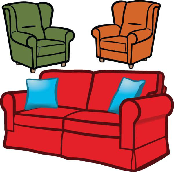 600x594 Sofa Chair Clip Art Best Clip Art From Images Lounge Sofa Chair